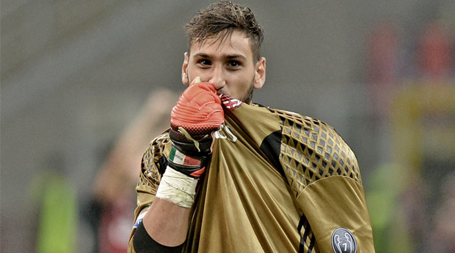 Donnarumma signs AC Milan contract renewal until 2021